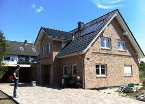 Zwerchgiebelhaus mit Balkon bauen in Winsen Aller, Celle und Hannover